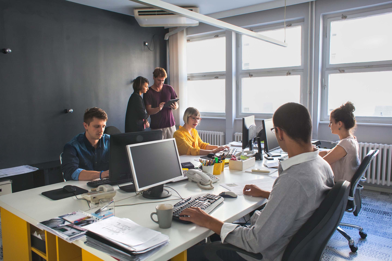 ¿Para qué sirven las fotos de trabajo en equipo?