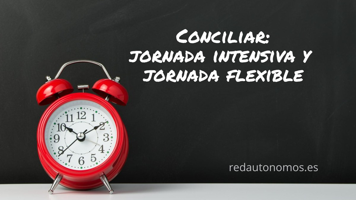 Jornada intensiva o flexible: una medida para la conciliación