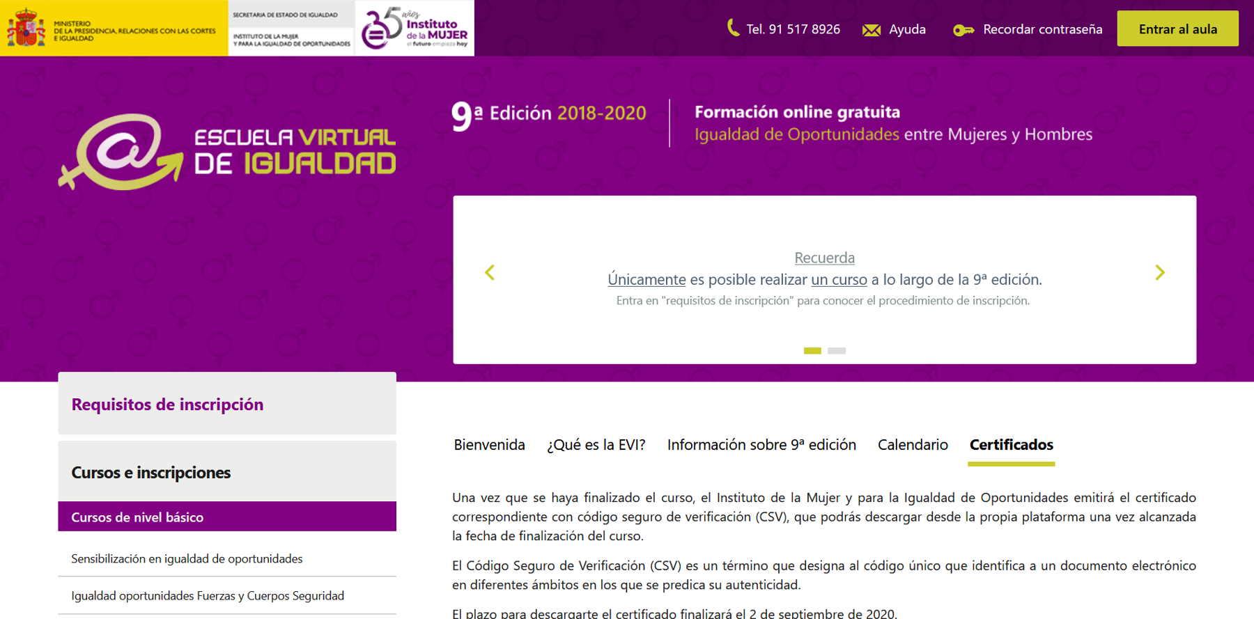 Formación para la elaboración de planes de igualdad en las empresas