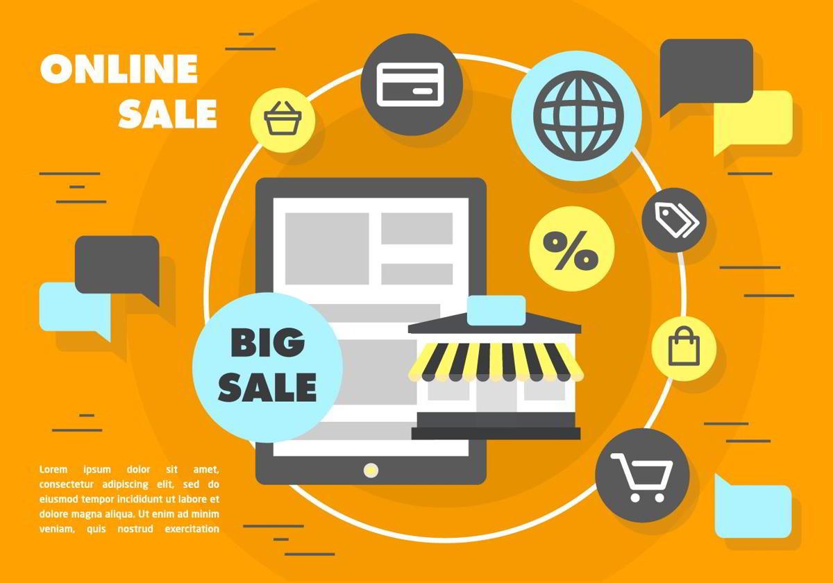 Clases de comercio electrónico según vendedor y cliente